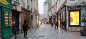 Balade parisienne automnale